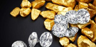 золото и бриллианты