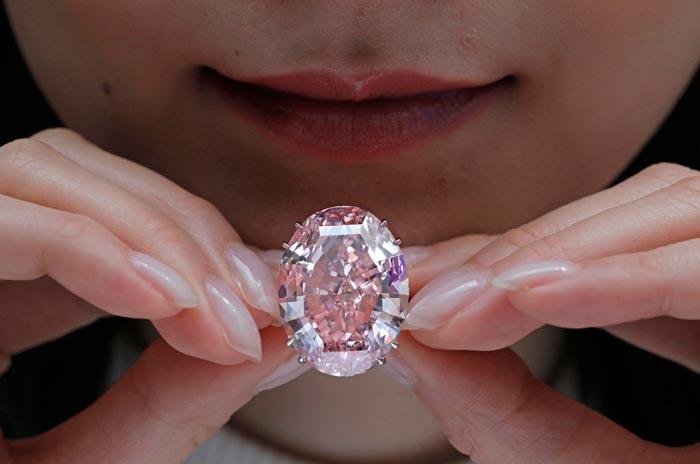 алмаз розовая звезда