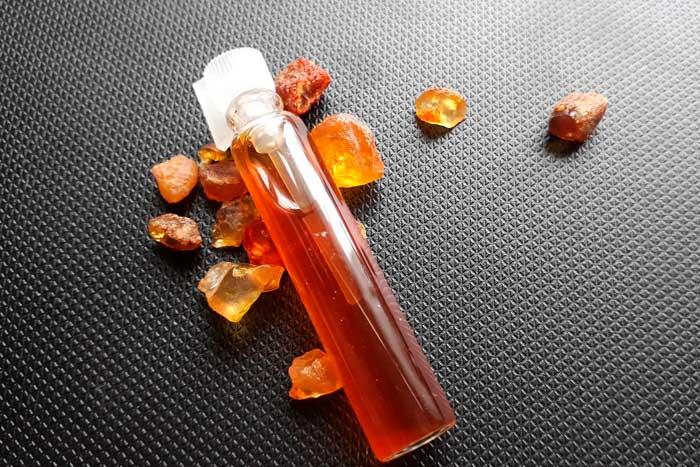 масло из янтаря