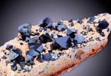 кристаллы магнетита