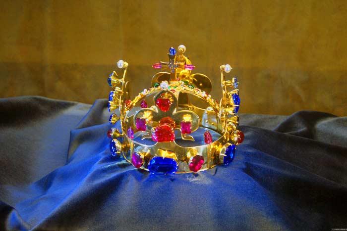 Рубин в короне святого Вацлава
