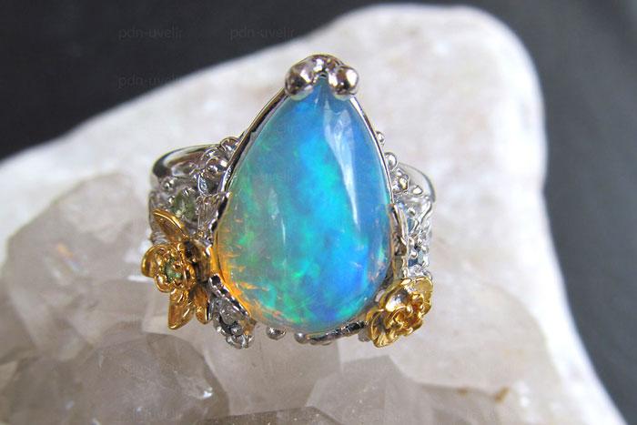 Опал голубой камень свойства